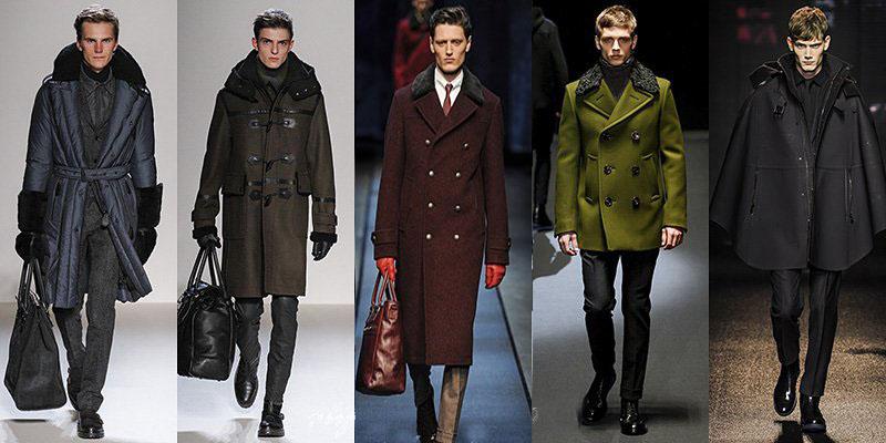 Fasony płaszczy dla mężczyzn